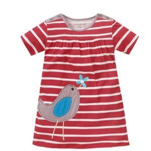 Short sleeve A-line dress boutique 5T